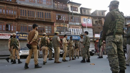 Indian forces exchange fire with armed rebels in Kashmir: police