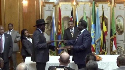 S Sudan leaders agree to form new government