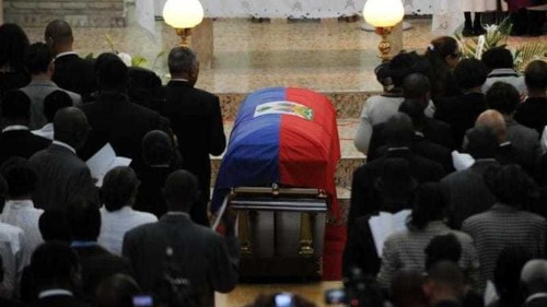 Divided Haiti bids farewell to Duvalier