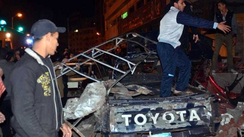 Egypt police air deadly blast 'confession'