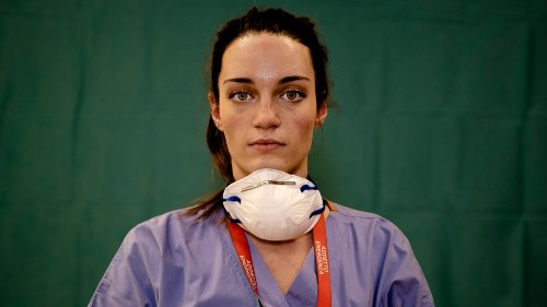 In Pictures: The medical heroes on Italy's front line