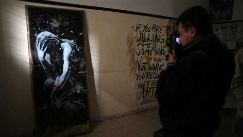 Gaza family 'duped' into selling valuable Banksy art
