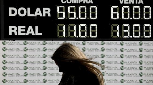 Is Argentina overspending its dollars to shore up the peso?