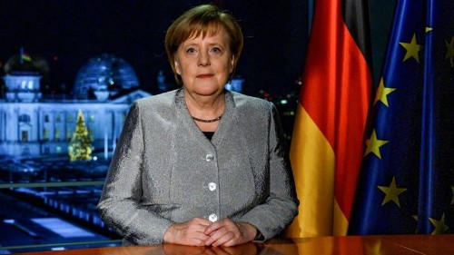 Angela Merkel: Germany will take on more global responsibility