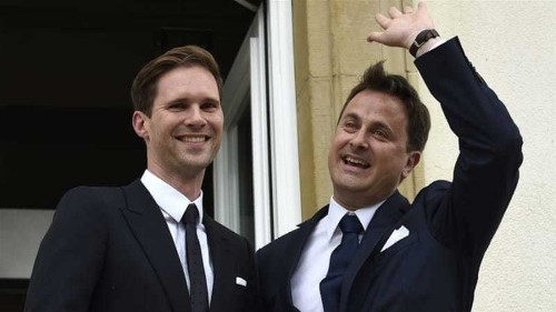 Luxembourg PM becomes first EU leader to wed gay lover