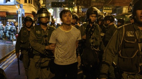 China ramps up 'pressure tactics' as Hong Kong protests push on
