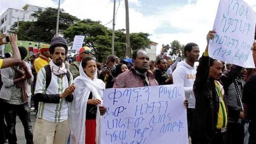 Arrests at anti-Saudi protest in Ethiopia