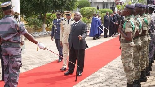 Gabon's Ali Bongo makes first live public appearance after stroke