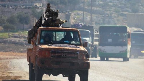 Syrian rebels capture key ISIL town north of Aleppo