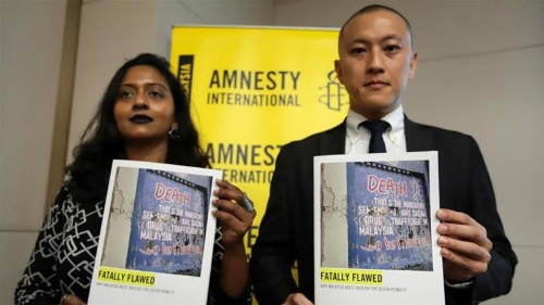 Amnesty alleges torture in some death penalty cases in Malaysia