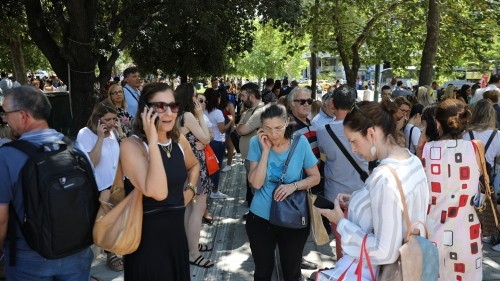 Strong earthquake rattles Greece's capital Athens