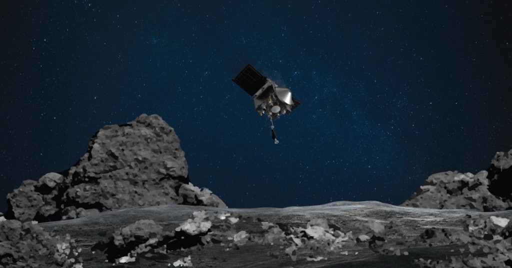 NASA probe leaking asteroid samples due to jammed door