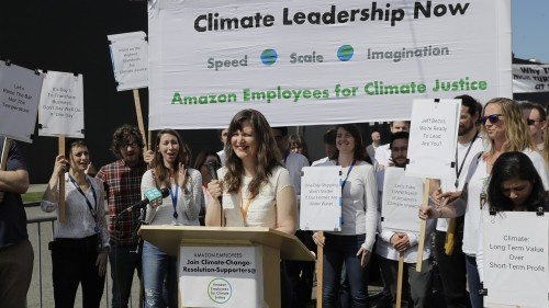 Employee activists: Amazon 'lagging behind' on climate policy