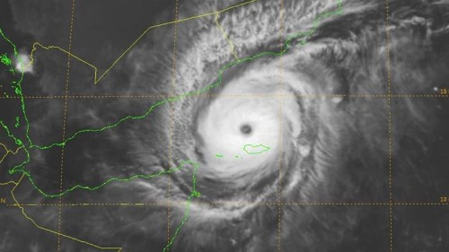 Deadly cyclone wreaking havoc in Yemeni waters