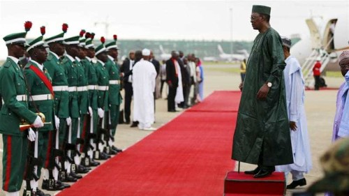 Nigerian president replaces military's top brass