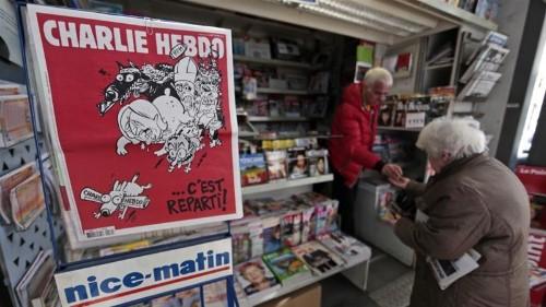 Charlie Hebdo's Luz to stop drawing Muhammad cartoons