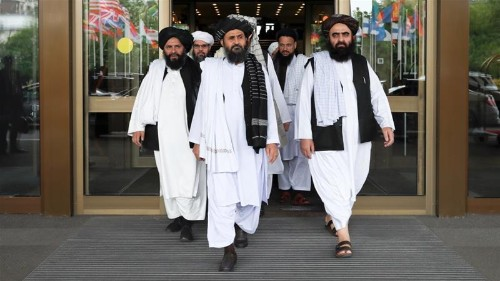 Taliban delegation visits Russia after Trump says talks 'dead'