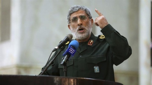 Iran's new Quds leader vows 'manly' revenge for Soleimani killing