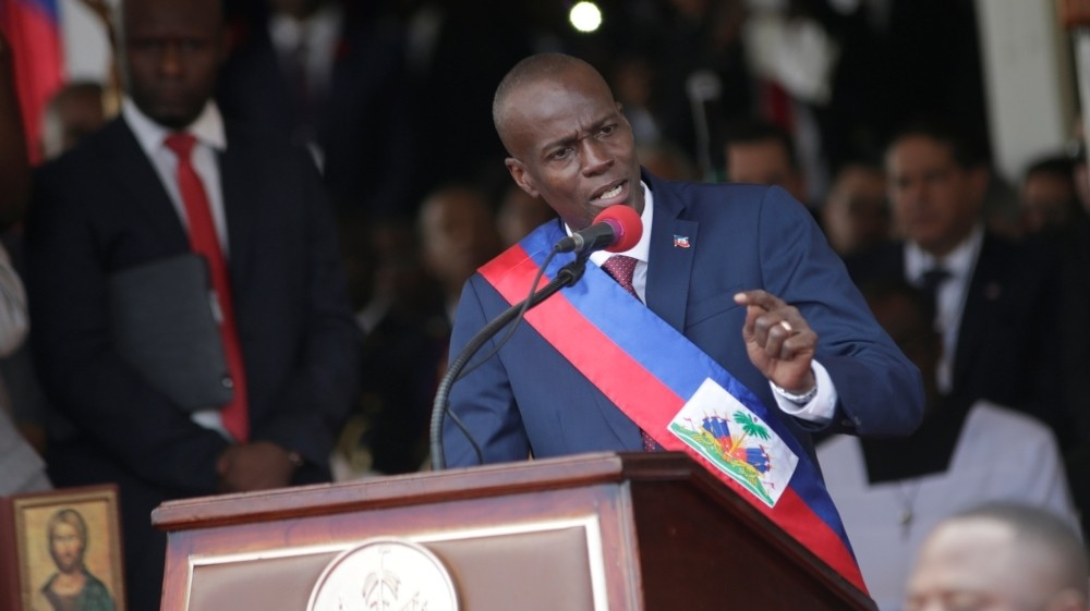 Haitian President says he fights corruption while chief of staff and secretary are accused of embezzlement