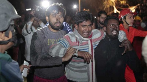 Fire at Bangladesh plastics factory kills 13 people