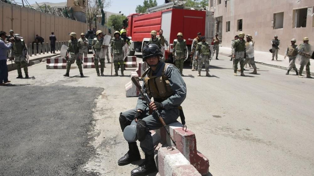 US air raid kills Afghan police in Helmand