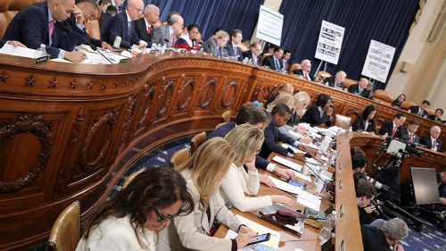 US panel to hear presentations on impeachment evidence on Monday