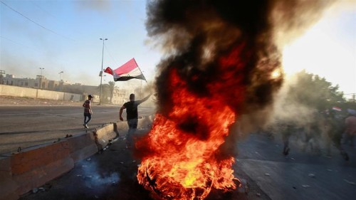 A platform for the Iraqi people and the protests