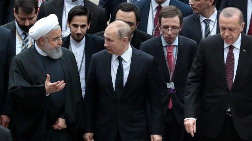 Erdogan hosts Putin and Rouhani for new round of Syria talks
