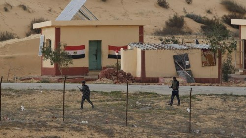 Dozens of armed fighters killed in Egypt's northern Sinai