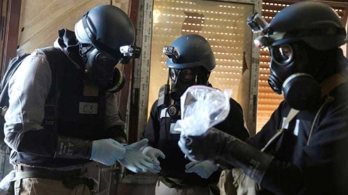 HRW: Syria carried out chemical attacks in Aleppo