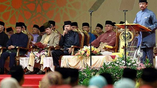Brunei adopts 'phase one' of Islamic law