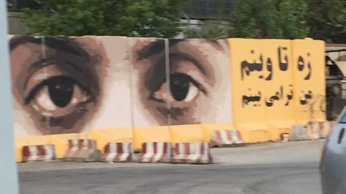 Afghan graffiti artist strives to beautify Kabul