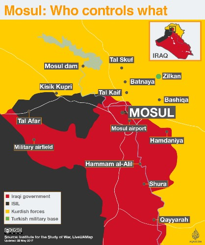 '484 civilians killed' in US-led attacks against ISIL