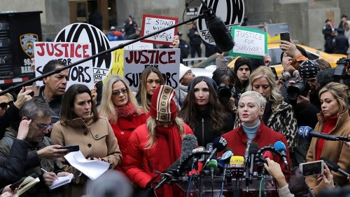 'Fight far from over': Survivors, others on Weinstein conviction