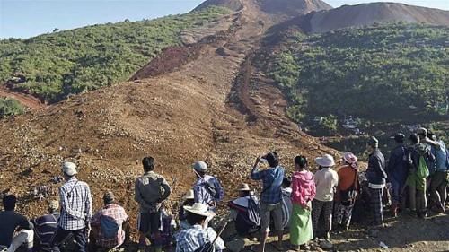 Myanmar accident highlights dangers facing jade miners