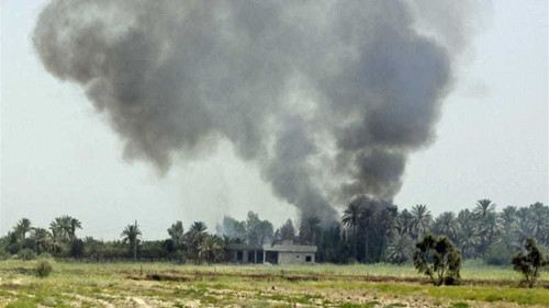 Iraq launches air raids on rebel positions