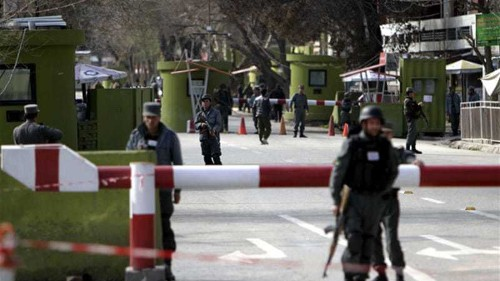 Suicide bomber strikes Afghan ministry