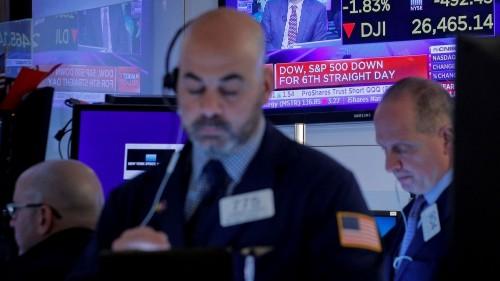 Coronavirus fears pound US stocks into 'correction' territory