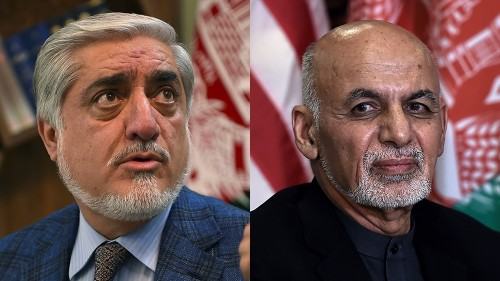 Afghan runner-up bars electoral officials from leaving country