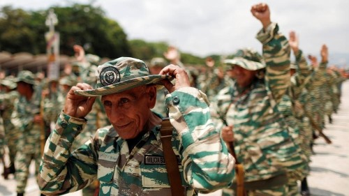 Venezuela adds civilian militia to armed forces