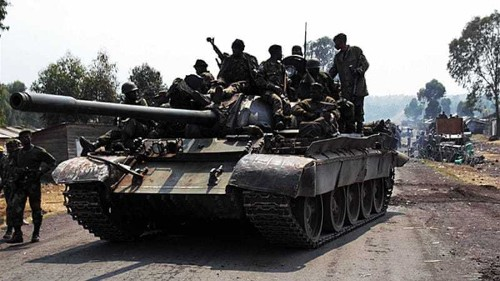 DR Congo risks violence despite rebel defeat