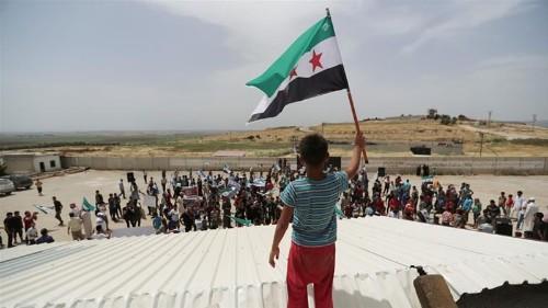Syria: At least 13 killed in Idlib air raid