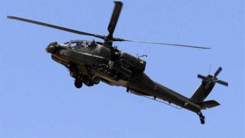 US delivers Apache helicopters to Egypt