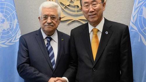 Palestine casts first vote at UN