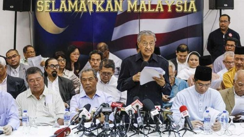 Hashtag backfires in Malaysia PM's campaign