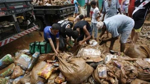 Floods leave 50,000 Brazilians homeless