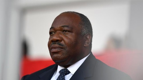 Gabon's Bongo returns home after months abroad