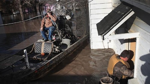 Unprecedented flooding hits parts of US