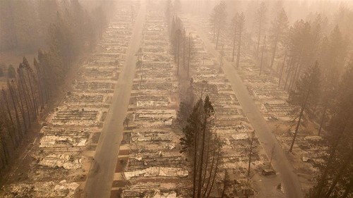 California wildfires: 'If this town recovers, it will take years'