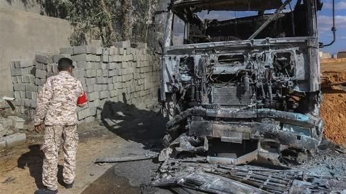 UN: Air raid in Libya kills 10, may constitute a war crime